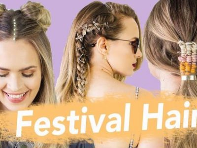The Best Festival Hairstyles For 2018