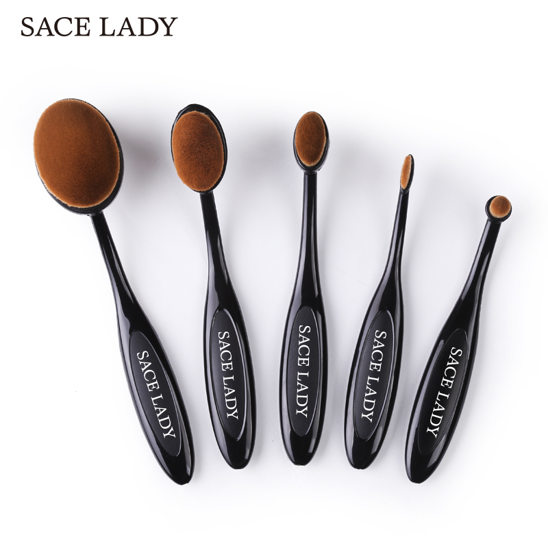 oval eyebrow brushes