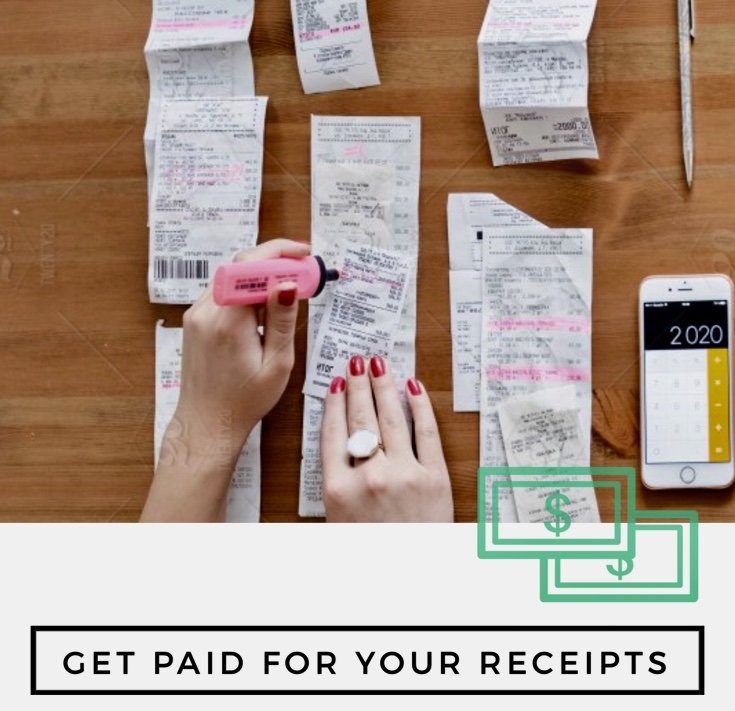 How to Make Easy Cash Fast: Get Paid for your Receipts