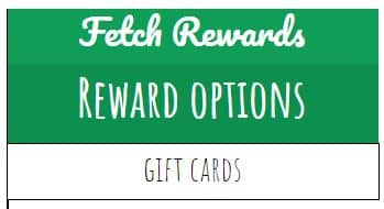 Fetch Rewards rewards