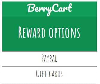 BerryCart rewards