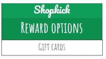 Shopkick rewards