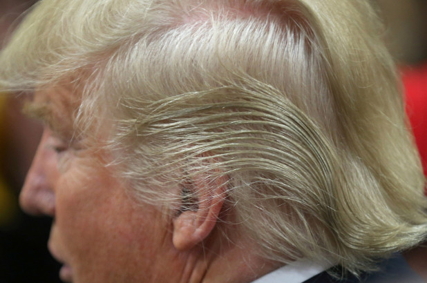 What's Up with Trump's Hair?