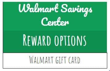Walmart Savings Catcher rewards