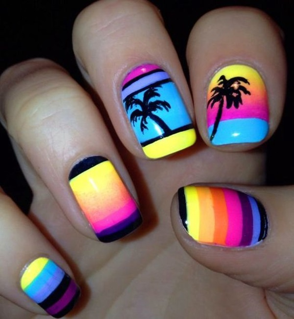 56 Nail Design Ideas for Summer 2018