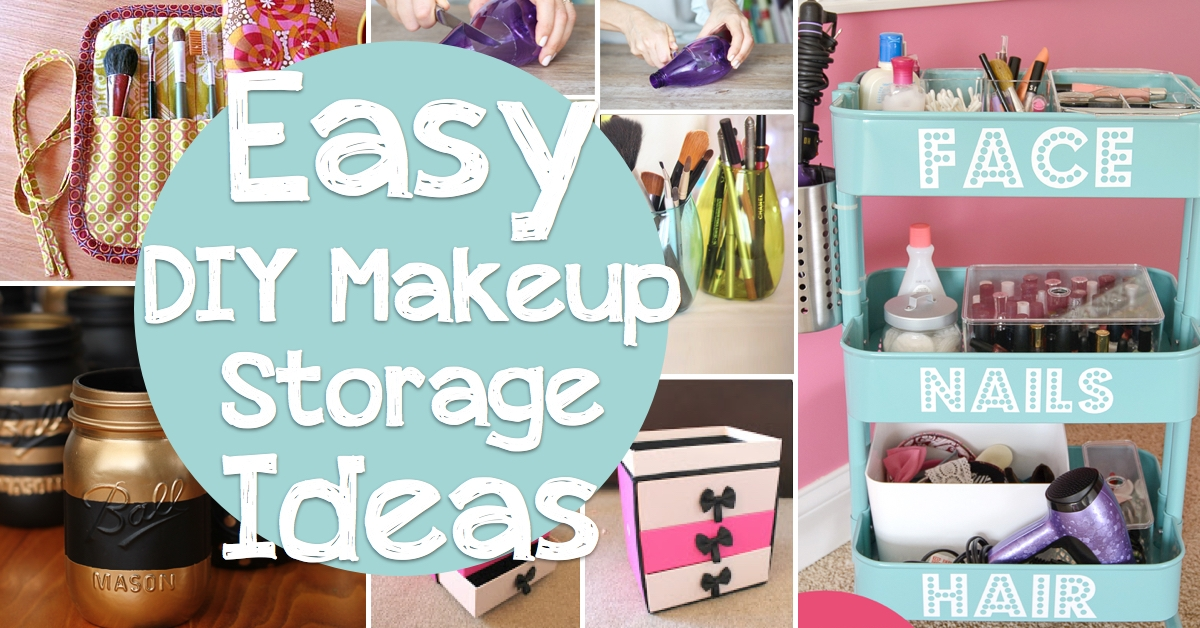 21 Easy Ways to Organize Your Makeup