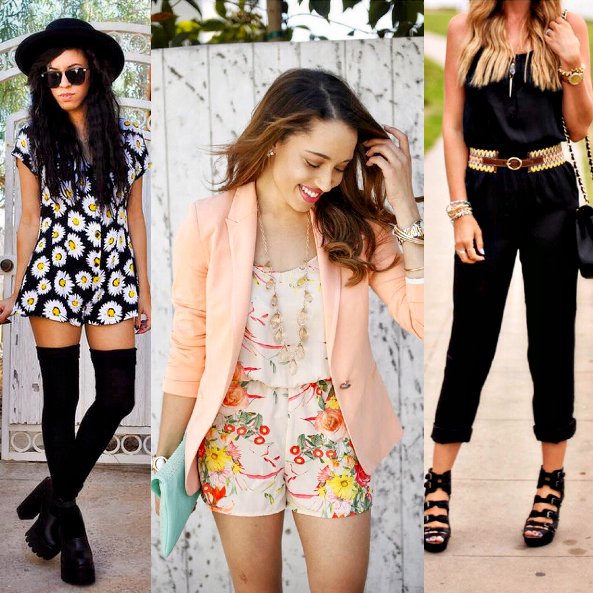 20 Ways to Wear Rompers or Jumpsuits
