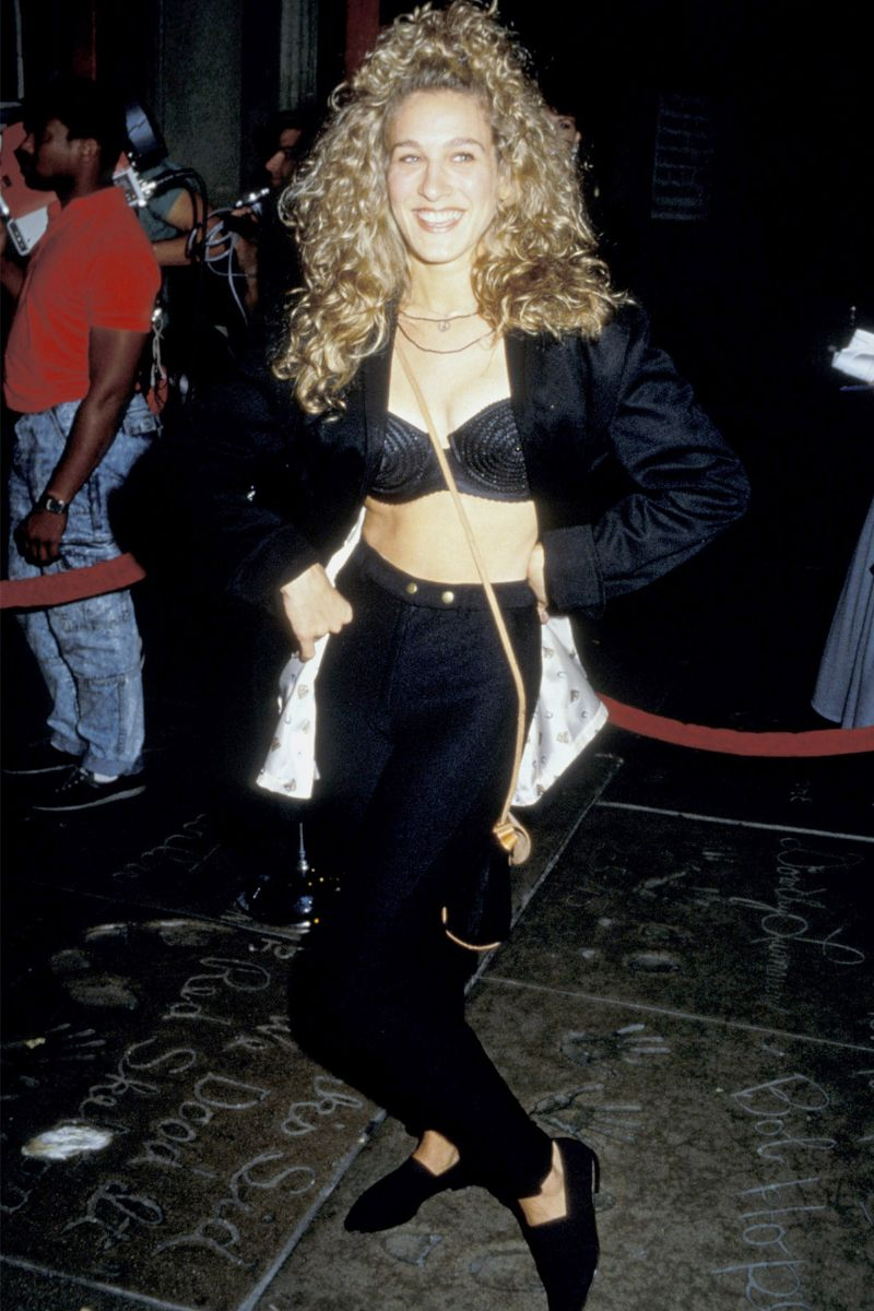 SJP had our Current Dream Wardrobe in 1986
