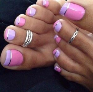 easy toe nail art designs