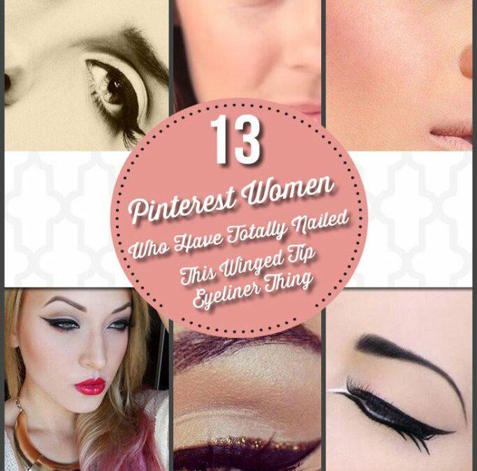 13 Pinterest Women Who Kill Winged Eyeliner