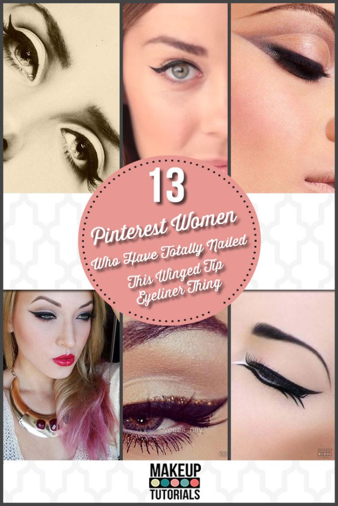 13 Pinterest Women Who Totally Nail this Winged Eyeliner Thing