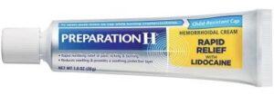 Preparation H Rapid Relief with Lidocaine Hemorrhoid Symptom dark circles under eyes