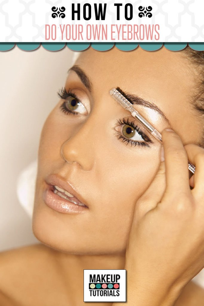 How to Properly Groom your Natural Eyebrows