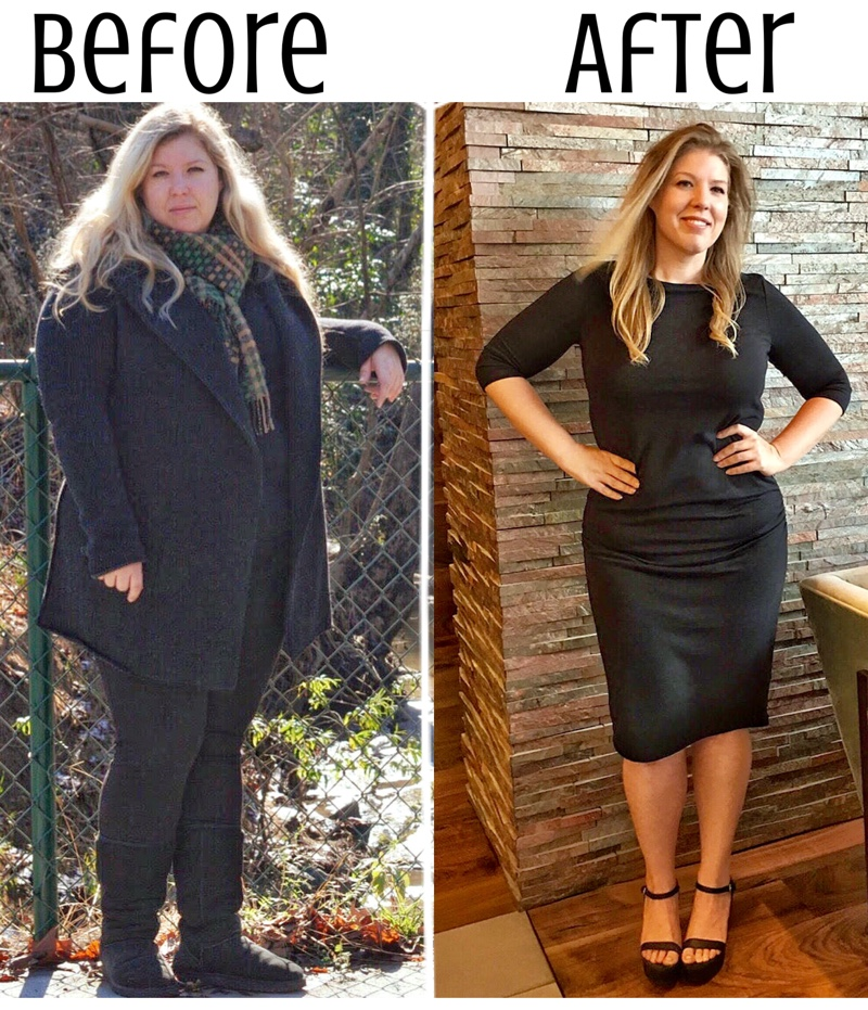 From Size 22 to Size 12: This Woman Changed her Habits and her Life