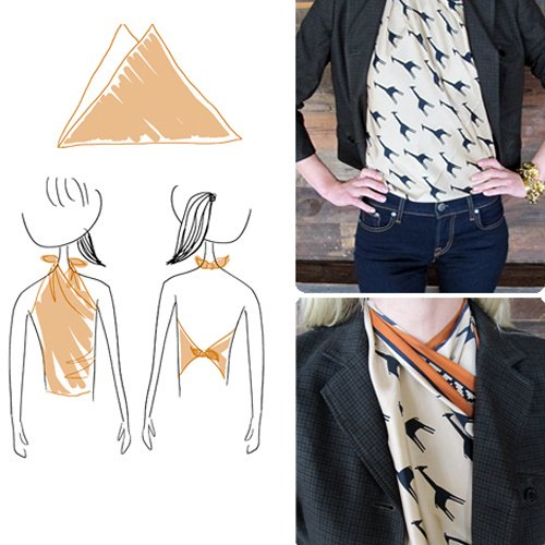 5 Creative Ways To Wear a Scarf
