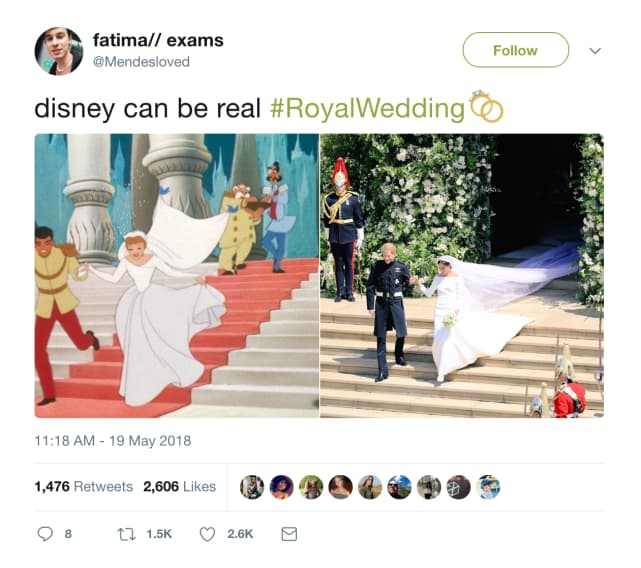 The Best Twitter Reactions to the Royal Wedding!