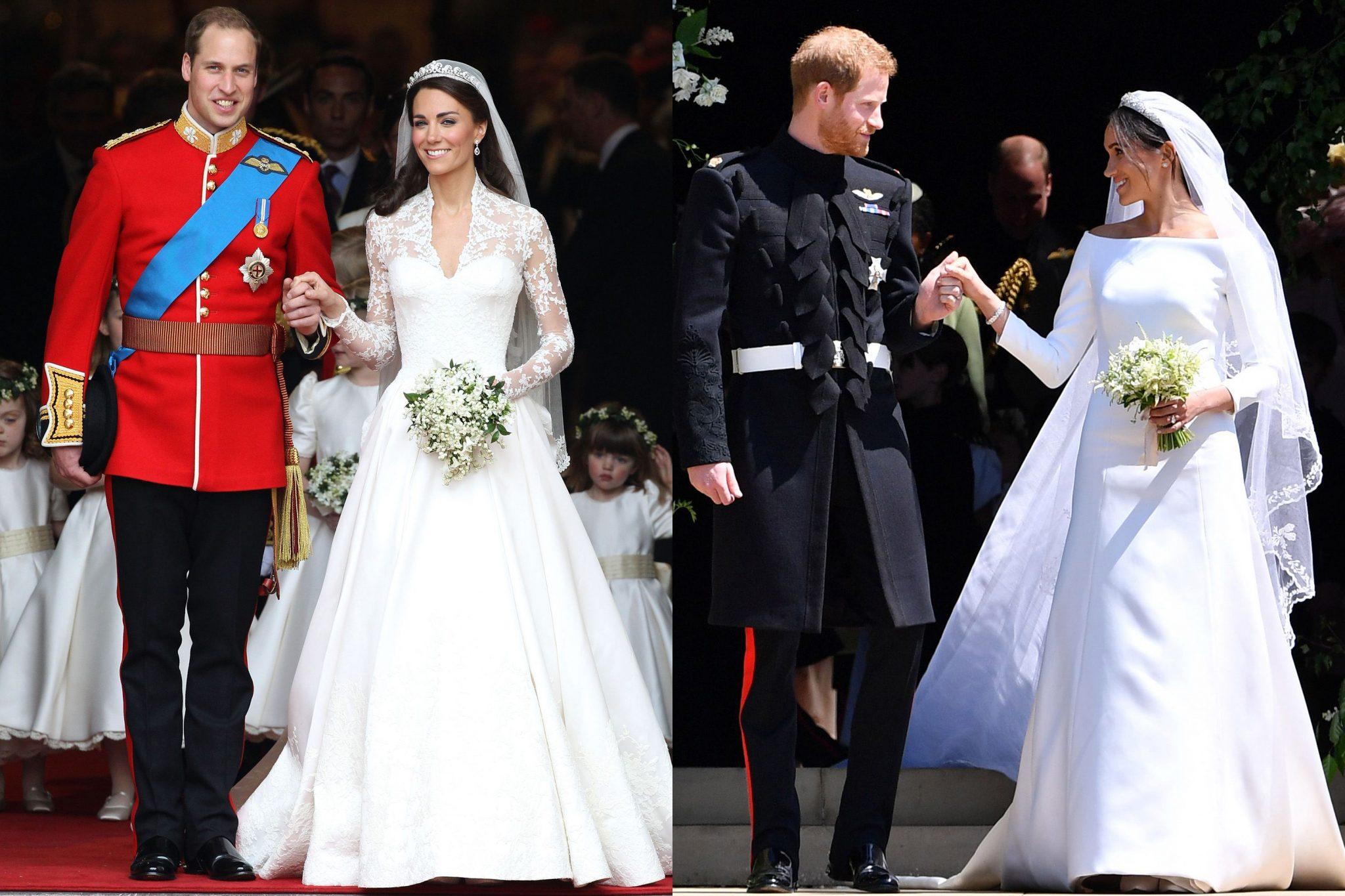 Royal Wedding Dress Debate: Who Wore it Better?