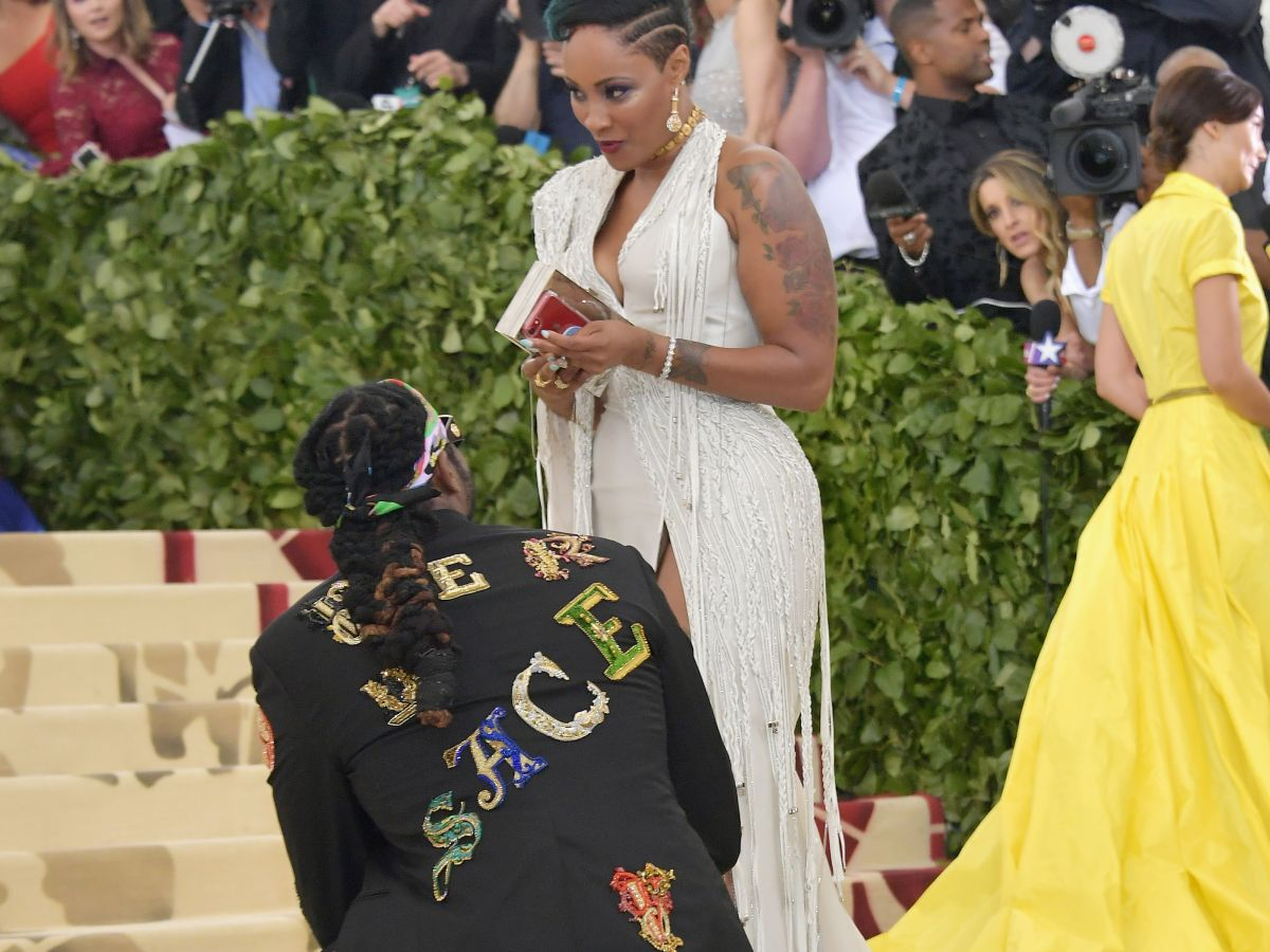 2 Chainz Just Popped the Question on the Met Gala Red Carpet