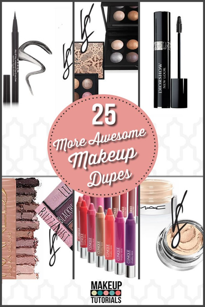 25 Identical Makeup Dupes