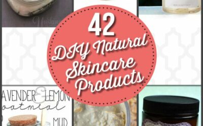 42 DIY Natural Skin Care Products
