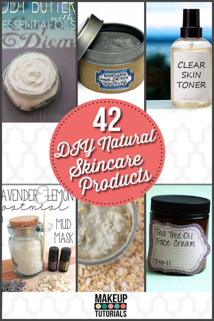 42 Natural Skin Care Products | DIY