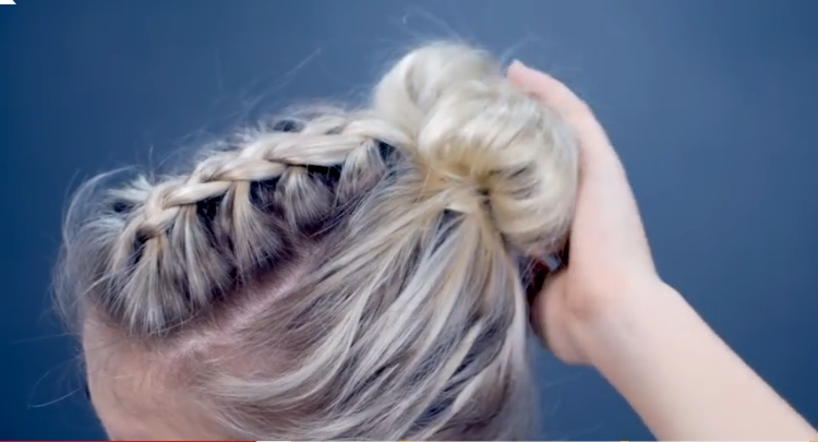 10 Trendy Bun Hairstyles for Short Hair | Video Tutorial