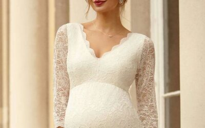 The Best Places to Find Maternity Wedding Dresses