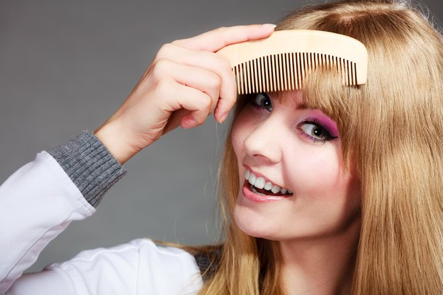cut your own bangs