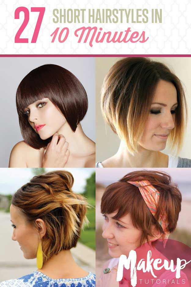 27 Simple & Chic Short Hairstyles