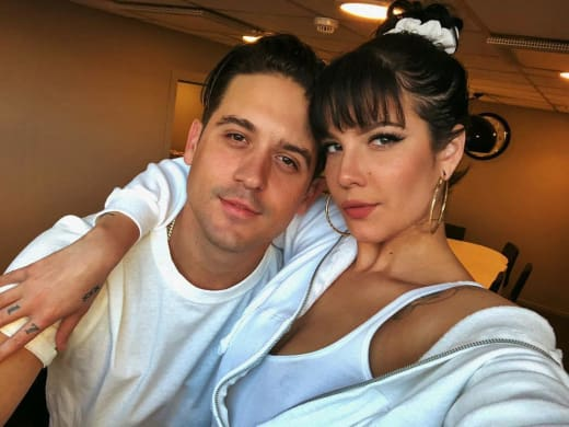 Halsey Dumps G-Eazy, Hints That She Caught Him Cheating
