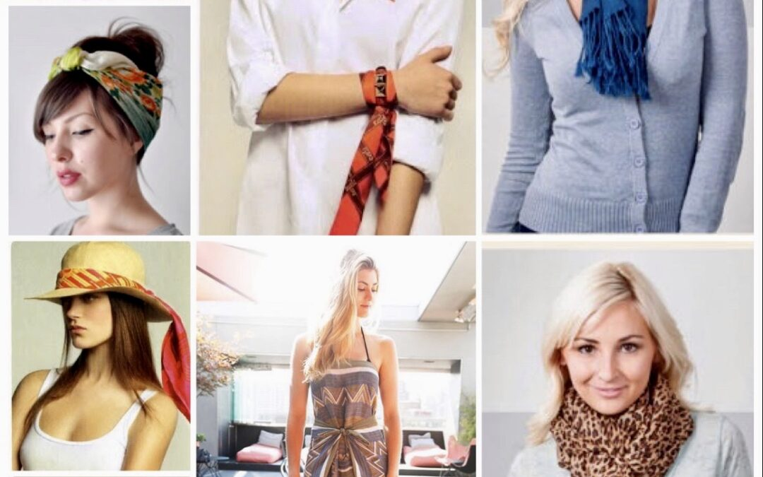 15 Cute and Creative Ways to Wear a Scarf
