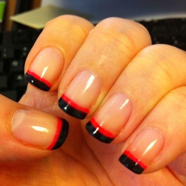 50 Amazing French Manicure Designs - Cute French Nail Art