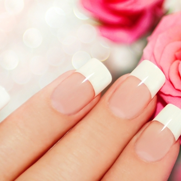 50 Modern French Manicure Design Ideas to Stand Out from The Crowd ...