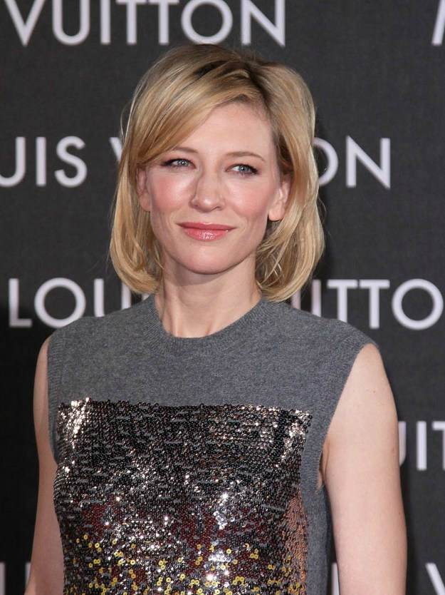 Cate Blanchett's Layered Bob | Flattering Haircuts For Older Women | Makeup Tutorials