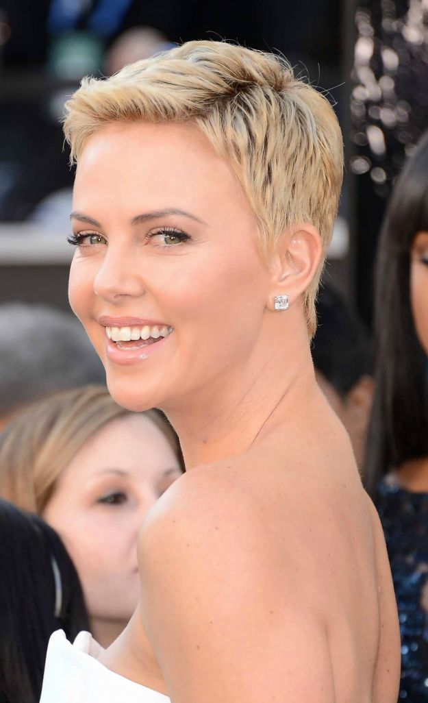 Charlize Theron's Chops | Flattering Haircuts For Older Women | Makeup Tutorials