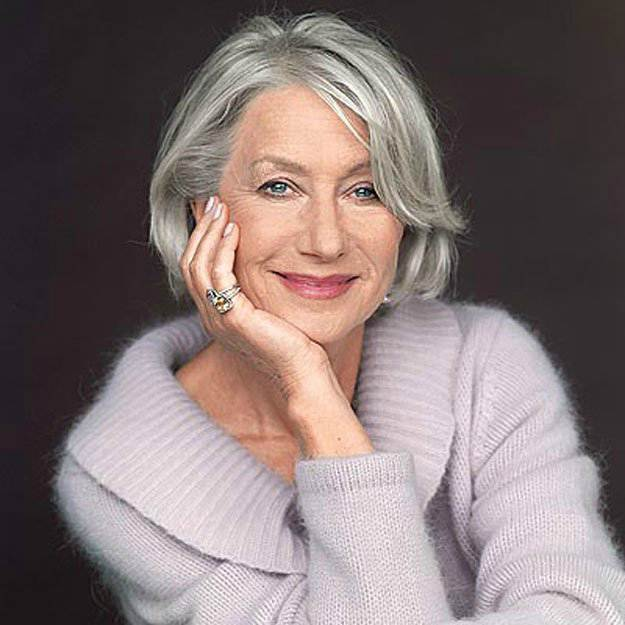 Helen Mirren's Hair | Flattering Haircuts For Older Women | Makeup Tutorials