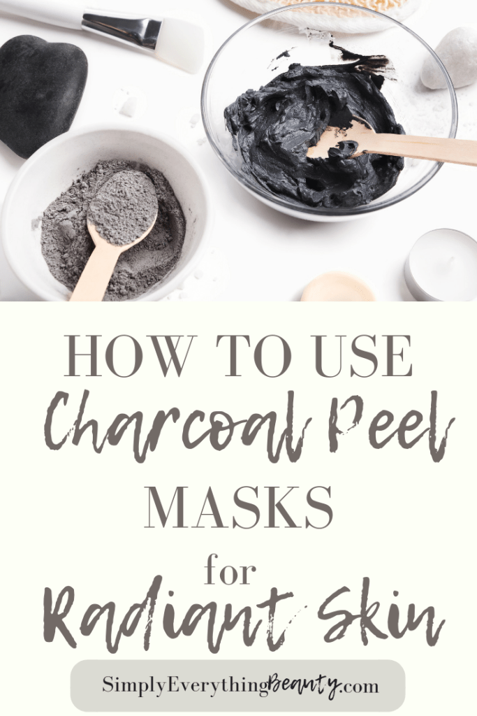 How to Use Charcoal Peel masks for Radiant Skin Pin
