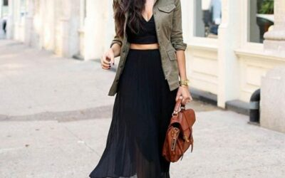 16 Creative Ways to Wear a Cargo Jacket this Fall