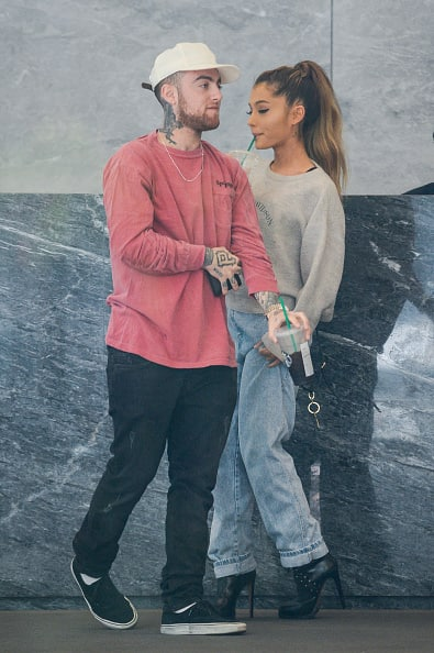 Ariana Grande and Mac Miller In New York