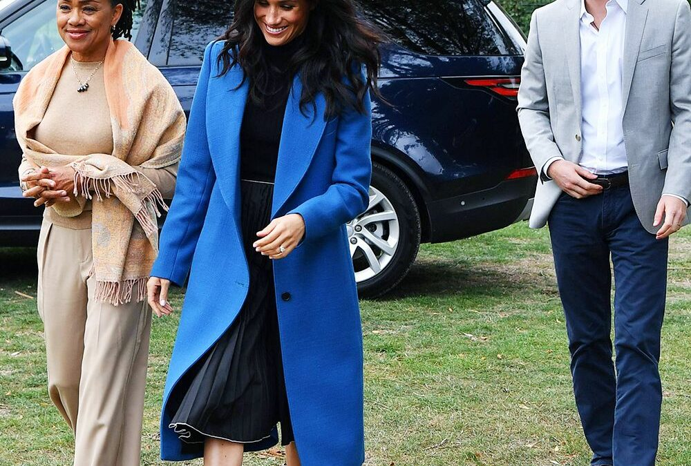 Sorry, Meghan—We Can't Help But Want Your Mum's Entire Outfit