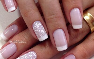 57 Fresh Ideas for a French Manicure Design in 2021