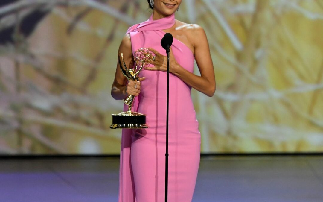 Thandie Newton Thanked God, A Woman, During Her Emmys Speech