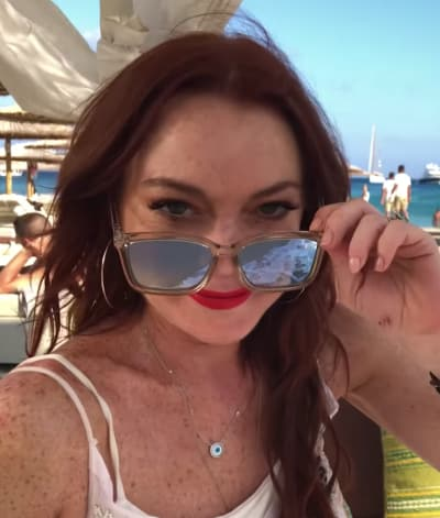 Lindsay in Greece