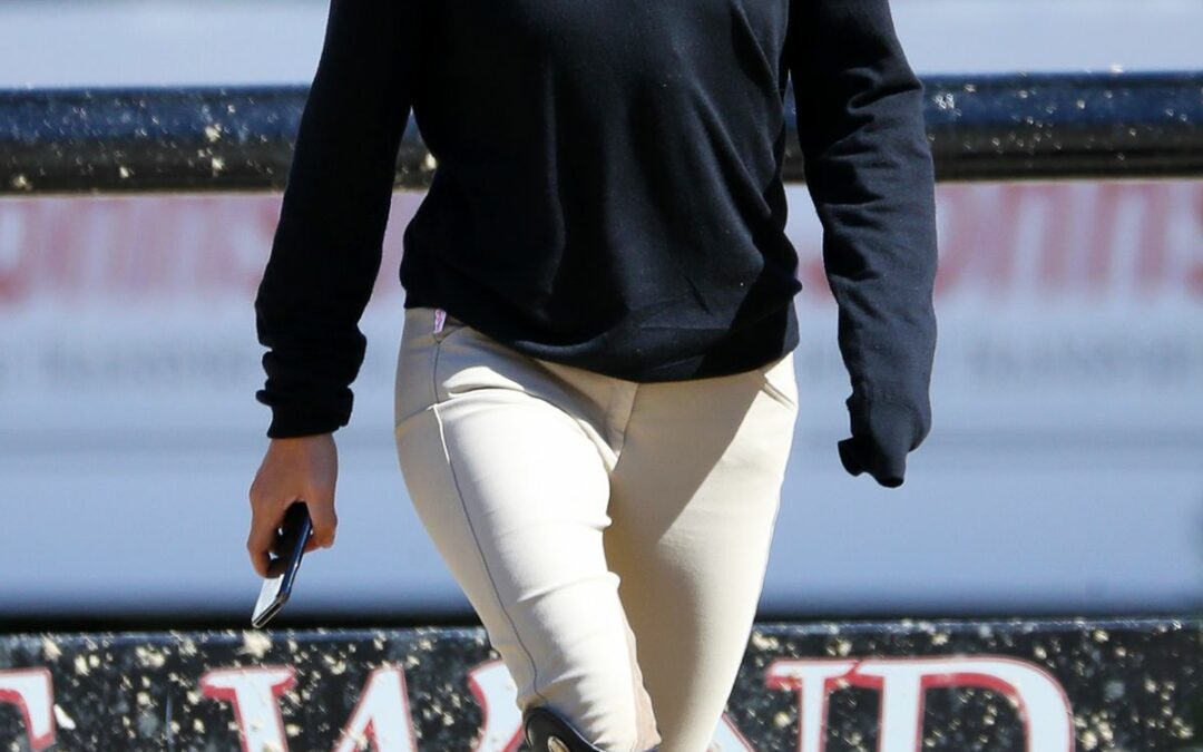 Mary-Kate Olsen Looked Like a Ralph Lauren Ad While Competing in a Horse Show
