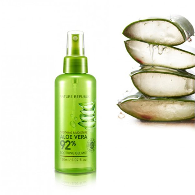 Nature Republic - Aloe Vera 92% Soothing Gel Mist | Korean Skin Care Products to Add to Your Beauty Regimen