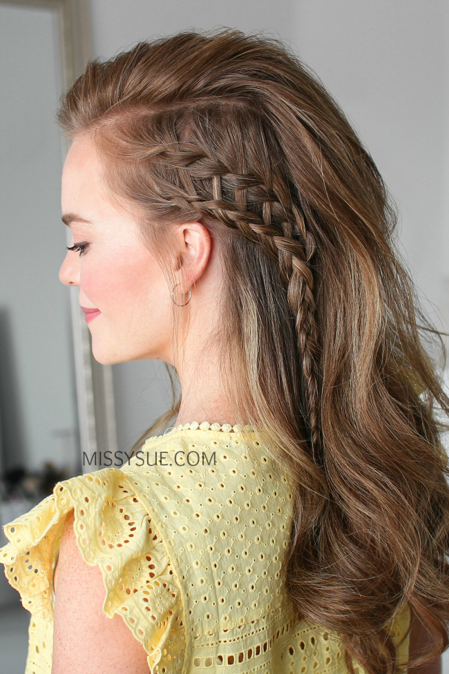 ladder hair braid