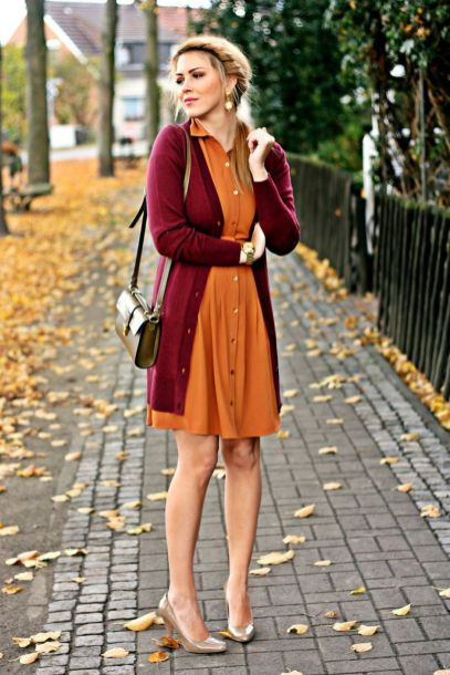 55 Orange Outfit Ideas That Make You Look Young and Fresh 38