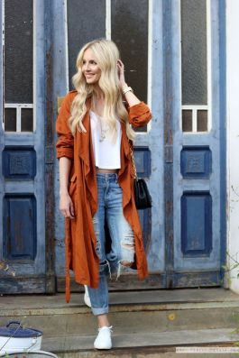 55 Orange Outfit Ideas That Make You Look Young and Fresh 49