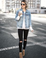 Denim Jacket Outfits Inspirations for Girl 5