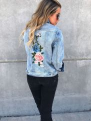 Denim Jacket Outfits Inspirations for Girl 6